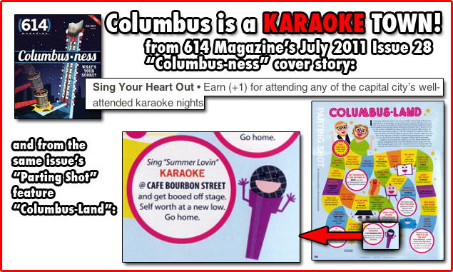 "614 Magazine's July 2011 Issue  ""Columbusness"""